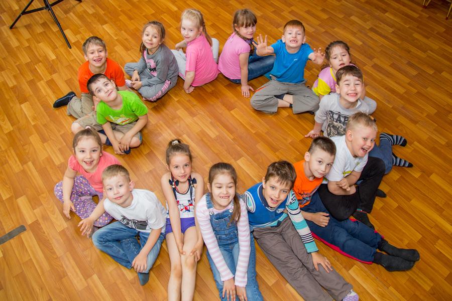 Общая фотограя в детском саду